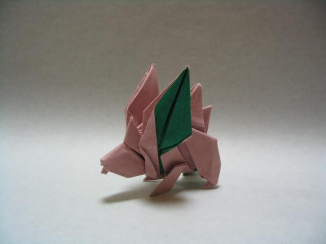 Origami Nidoran Male