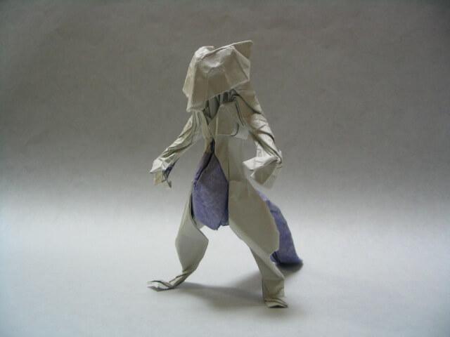 Origami Mewtwo