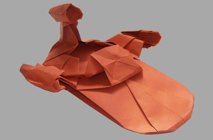Origami Star Wars Vehicles
