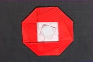 つばきの折り紙