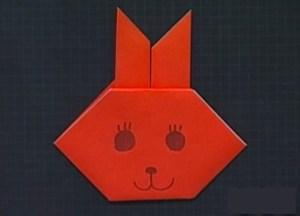 うさぎの折り紙