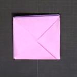 糸入れの折り紙