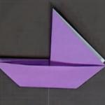 ヨットの折り紙