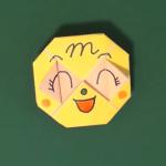 メロンパンナの折り紙