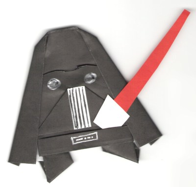 Origami Yoda II: Darth Paper Strikes Back! Folding Instructions + Contest! #starwars (1/4)