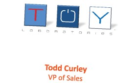 Todd Curley business card | ToyLabs