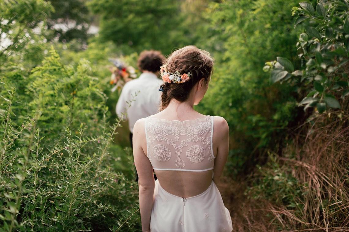 svatební fotografie BíláČerná, zámek Plumlov