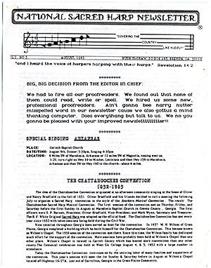 Vol. 1, No. 3: August, 1985