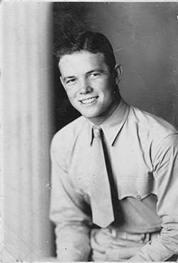 "Sgt. ""Mac"" McFarland in 1941; he took her breath away."