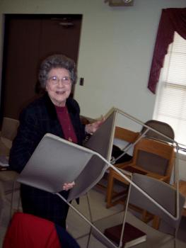 Evelyn Harris, 2007.