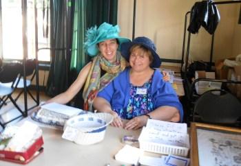 Carla Smith and Elaine Denny