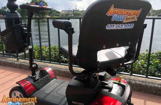 Orlando vacation reviews recommendations tips for Disney world motorized scooter rental