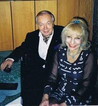 Инна Богачинская и  Андрей Вознесенский