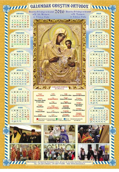 Calendar Ortodox Iunie 2016 Md | Calendar Template 2016