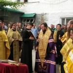 La Penitenciarul nr. 6 din Soroca au fost sfințite crucile pentru biserica nou construită