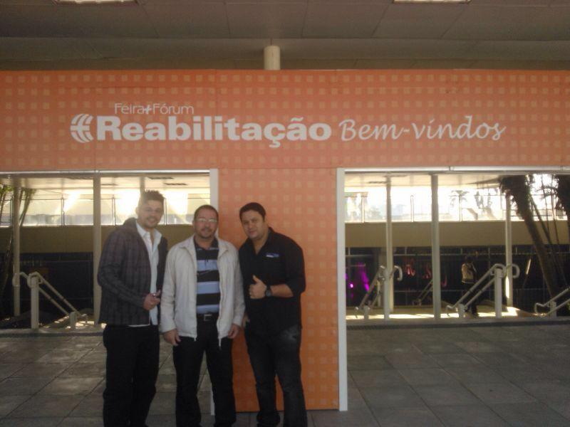 Entrada do evento: Srs. Manoel Luiz / Diogo Chagas / Danubio Fernando.
