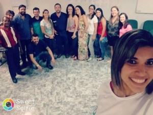 O mesmo grupo mas agora saindo na foto nossa funcionária nota 10 – Janaina Soares Rodrigues, não podemos deixar de mencionar que está sempre querendo se aperfeiçoar, e se capacitar.