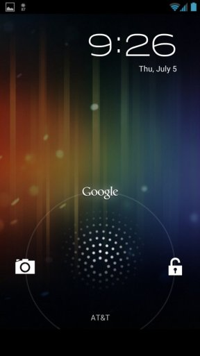 heres-the-new-lock-screen-for-jelly-bean-swipe-left-to-launch-the-camera-up-to-launch-google-now-and-right-to-unlock-the-phone
