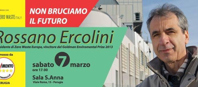 """Sabato 7 Marzo, ore 17, a Perugia """"Non bruciamo il futuro"""""""
