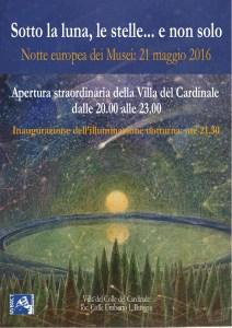 Notte dei Musei 2016 - Villa del Colle del Cardinale