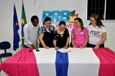 PRB Mulher toma posse no Recife