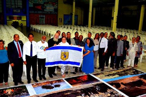 Deputado Ossesio participa de consagração pela Paz em Israel