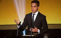 Brasileiro dá testemunho de fé em prêmio da FIFA