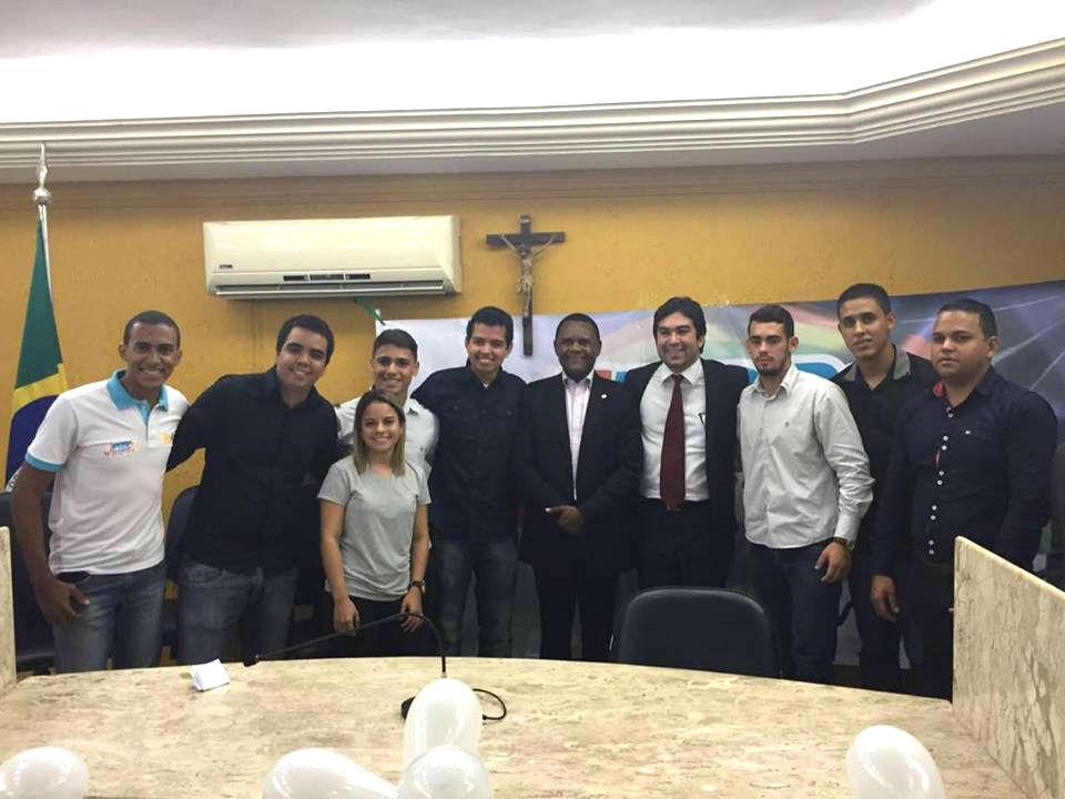 Coordenador do PRB juventude toma posse em São Lourenço da Mata