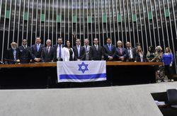 Bancada evangélica homenageia Israel no Congresso Nacional