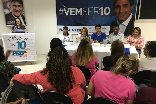 PRB Mulher realiza encontro estadual em Pernambuco