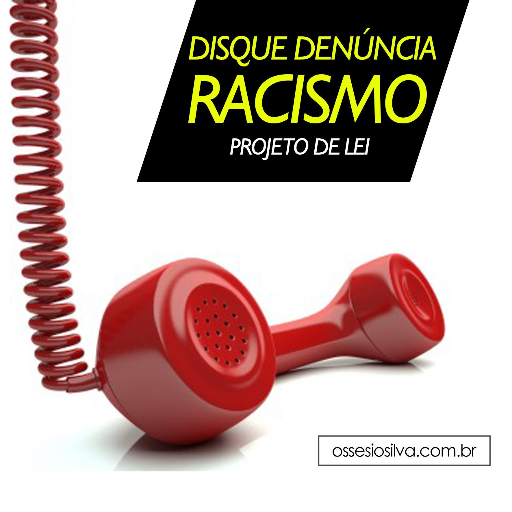 Disque-Denúncia  Racismo