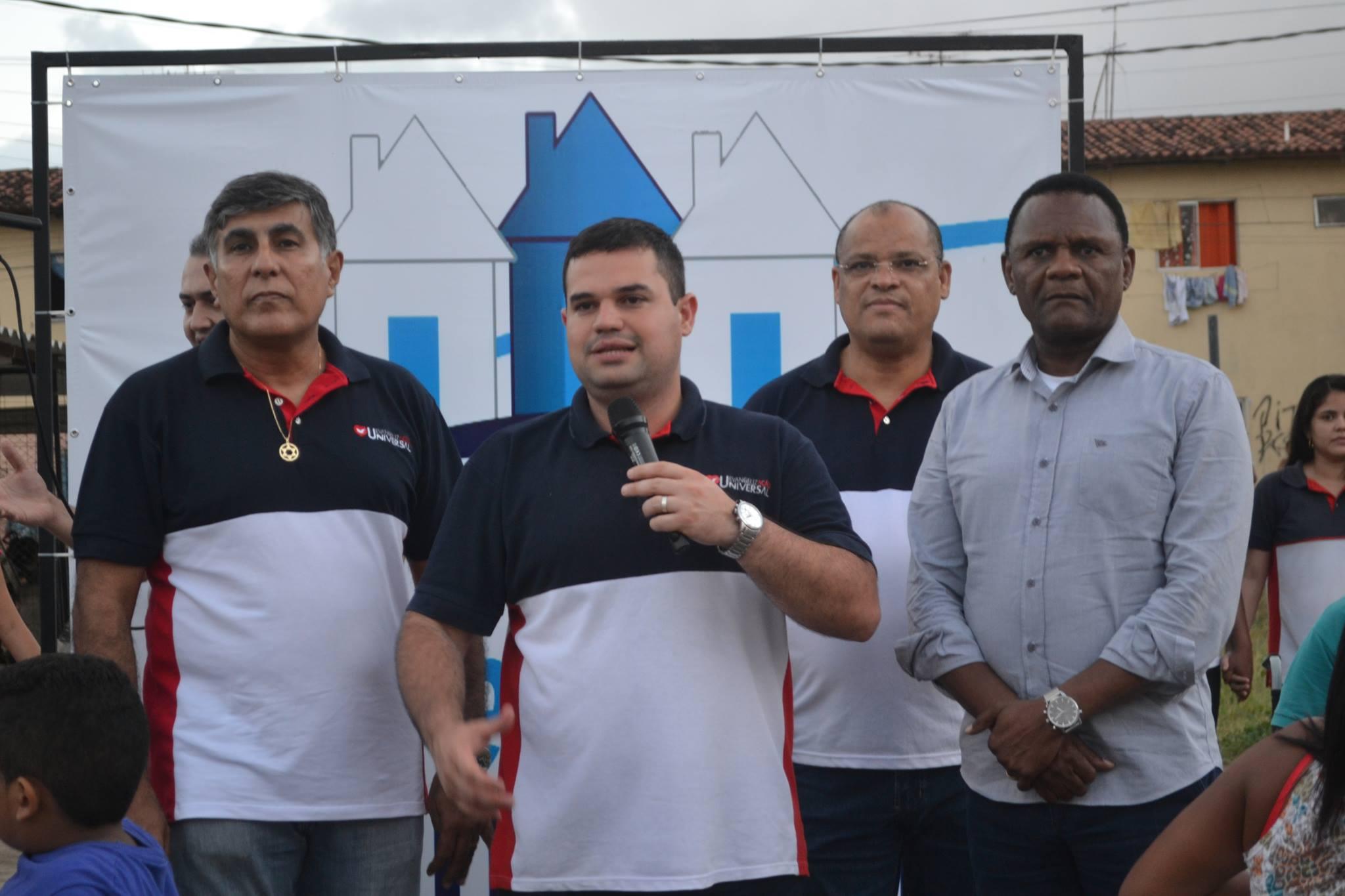 Ossesio Silva e Carlos Geraldo participam de evento no Cabo de Santo Agostinho (PE)