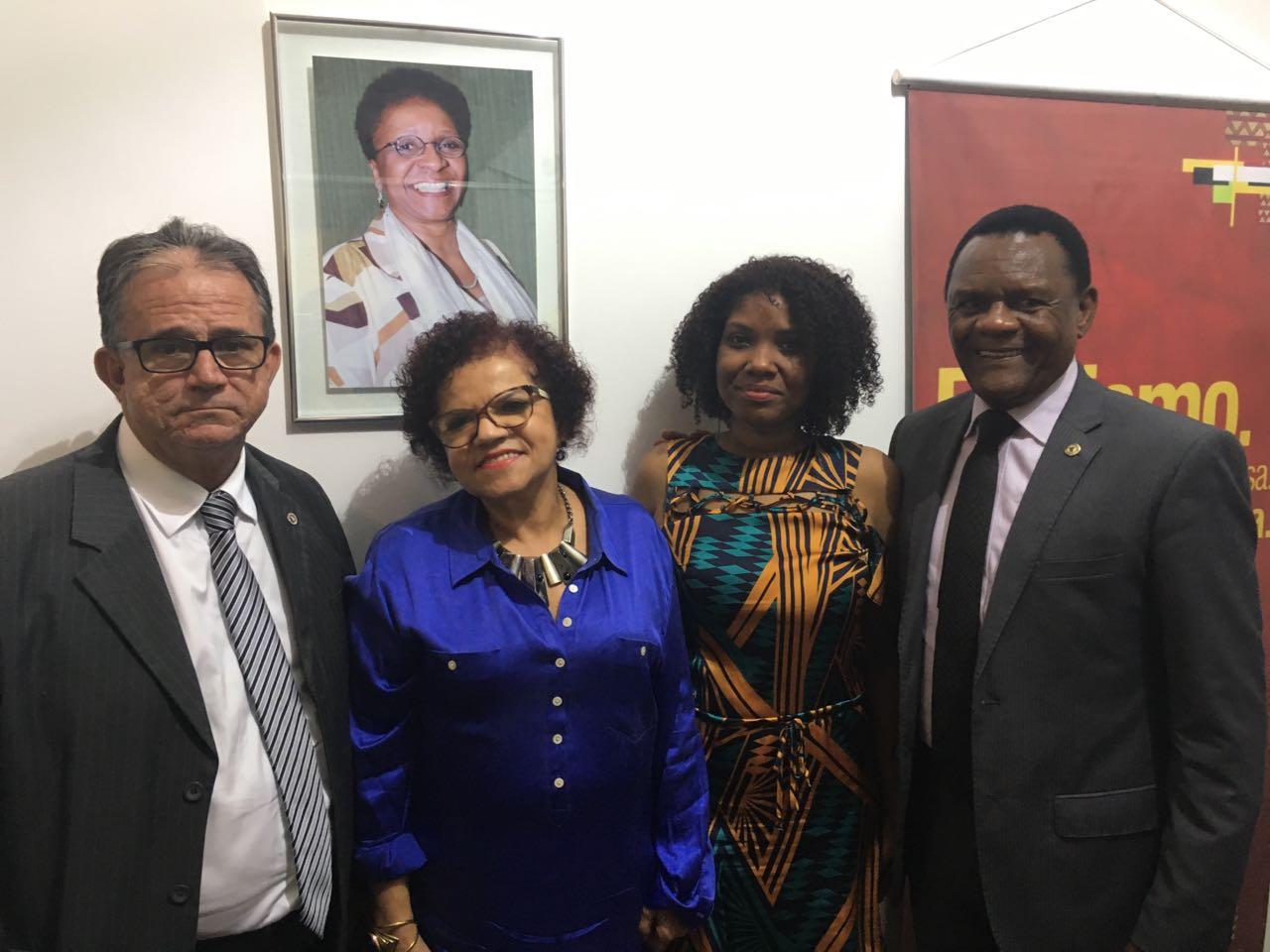 Ossesio participa de homenagem a ex-ministra da Igualdade Racial, Luiza Bairros