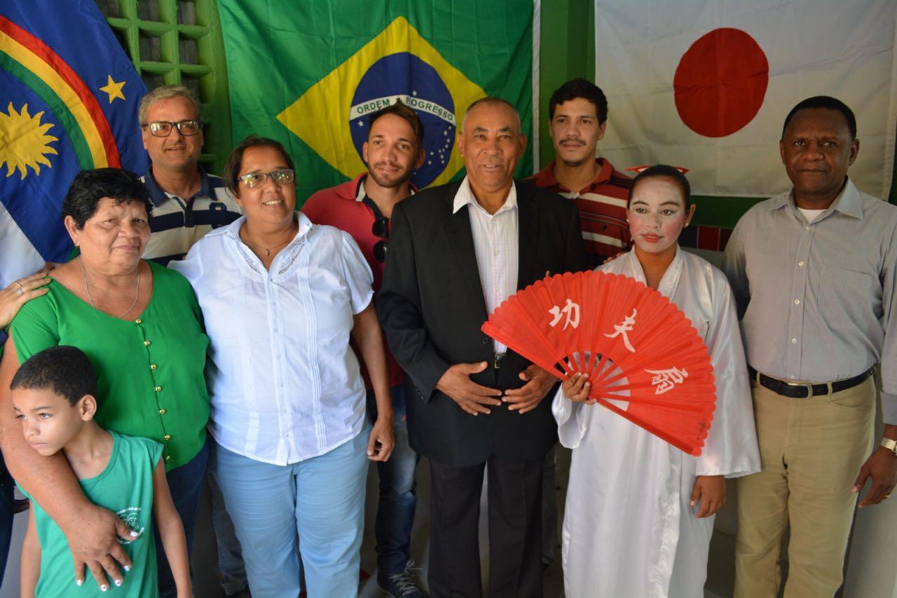 Deputado Ossesio prestigia parceria do consulado japonês que beneficia crianças em Jaboatão