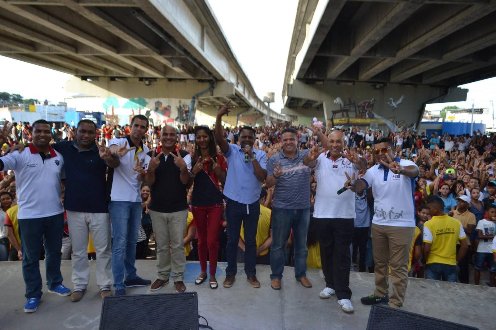 Jaboatão – Bispos Ossesio e William prestigiam evento da FJU em Prazeres