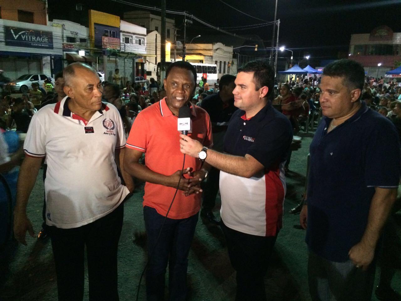 Bispos participam de ação social em  Jaboatão Centro