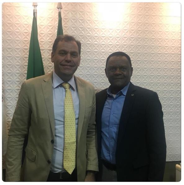 Deputado Ossesio visita prefeito Dr. Gabriel Neto em São Lourenço da Mata