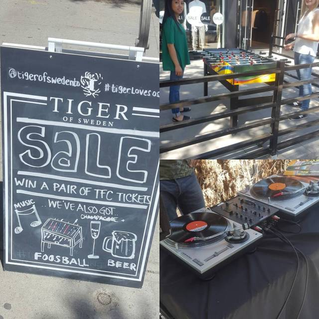 Day party at tigerofswedento with Foosball champagne beer DJ andhellip
