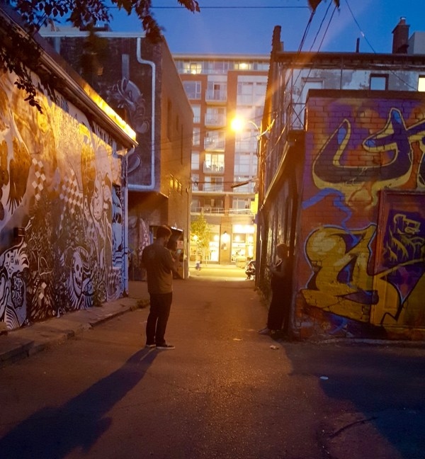 Ossington alley art