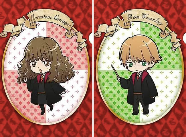 Harry Potter Anime Cards