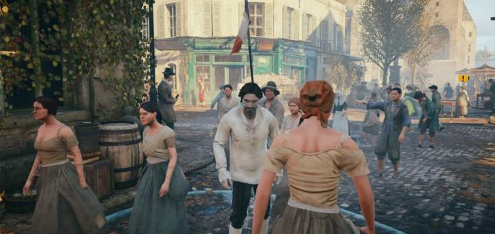 Images de la version PS4 d'Assassin's Creed� Unity