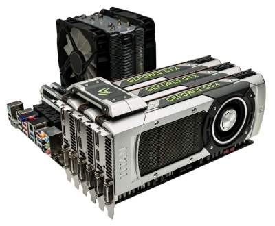 Des GeForce GTX-Titan. De quoi jouer en 120 fps !