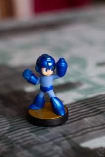 L'Amiibo Megaman himself !