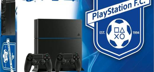 Le pack PS4 + Playstation Football Club