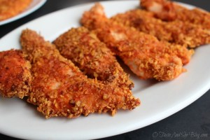 Zesty Salsa Chicken Fingers
