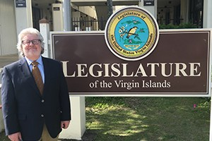 OTE Meets With USVI Legislature