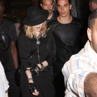 MADONNA & Newest Boy Toy TIMOR STEFFANS Out on the Town To See TUPAC Musical