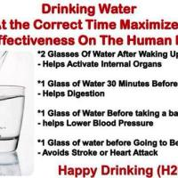 Did You Know There Were Best Times of Day to Drink Water?