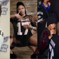 "Was NICKI MINAJ's ""Pervert 17"" Jersey a Dig At TYGA (Or Just Coincidence?)"