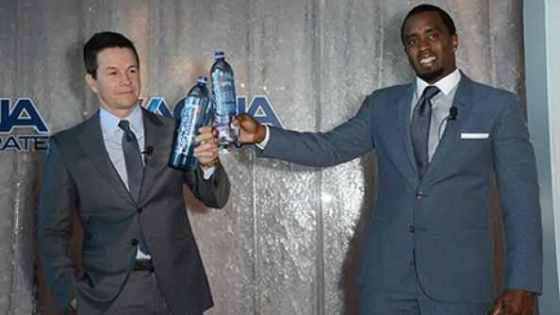 Mark and Diddy launching AquaHydrate